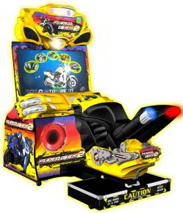 Super Bikes 2 / Superbikes 2 Motorcycle Video Arcade Racing Game | From Raw Thrills  |   Get more information about this game at: http://www.bmigaming.com/games-catalog-rawthrills.htm