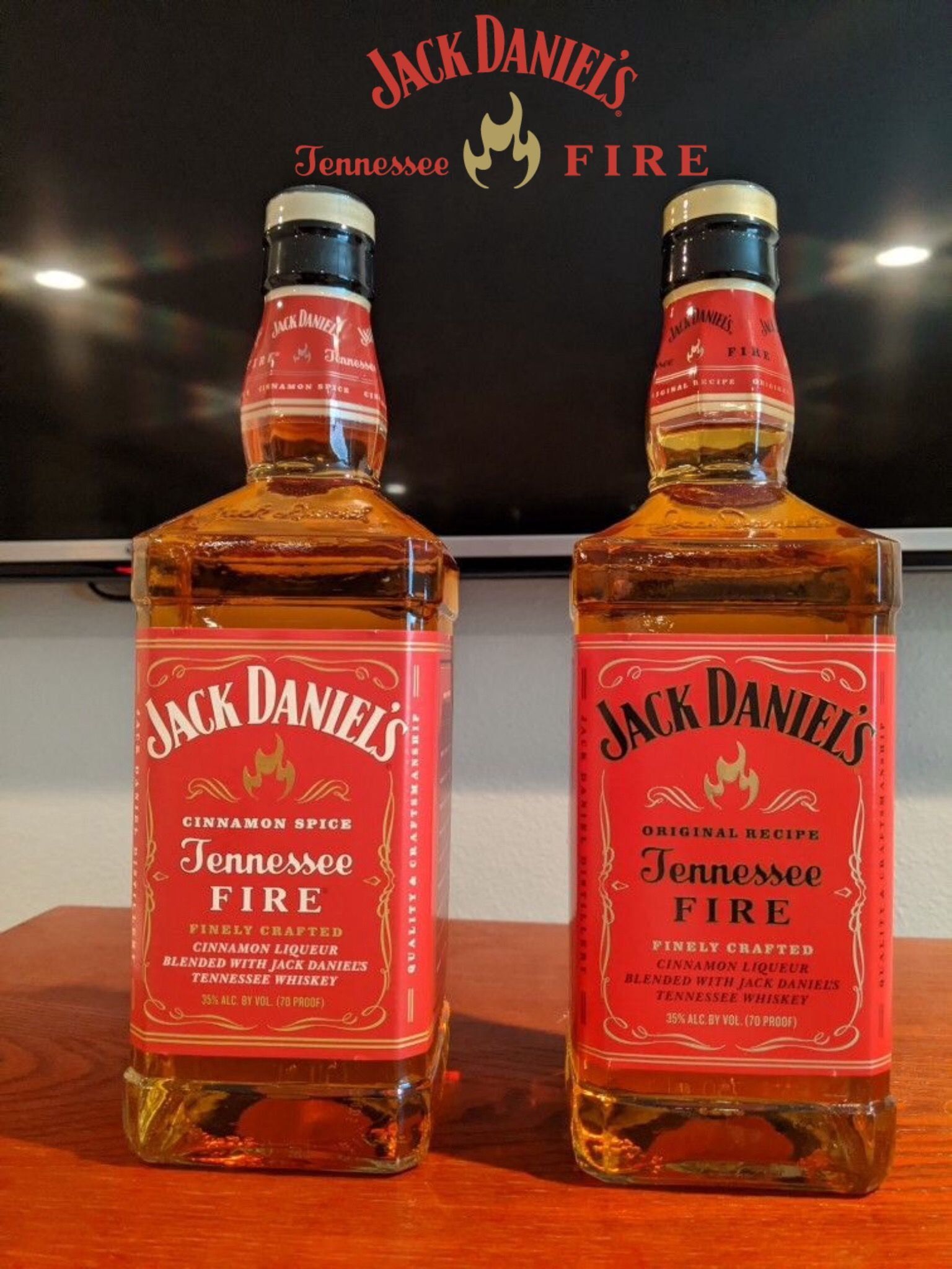 Jack Daniel S Tennessee Fire Old Label New Label Bottles In 2020 Jack Daniels Whiskey Bottle Jack Daniels Whiskey