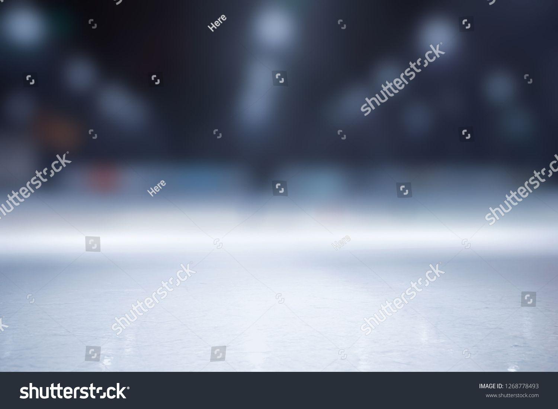 Blurred Ice Hockey Stadium Hall Background For Winter Sports Ad Affiliate Hockey Stadium Blurred Ice Ice Hockey Background Hockey