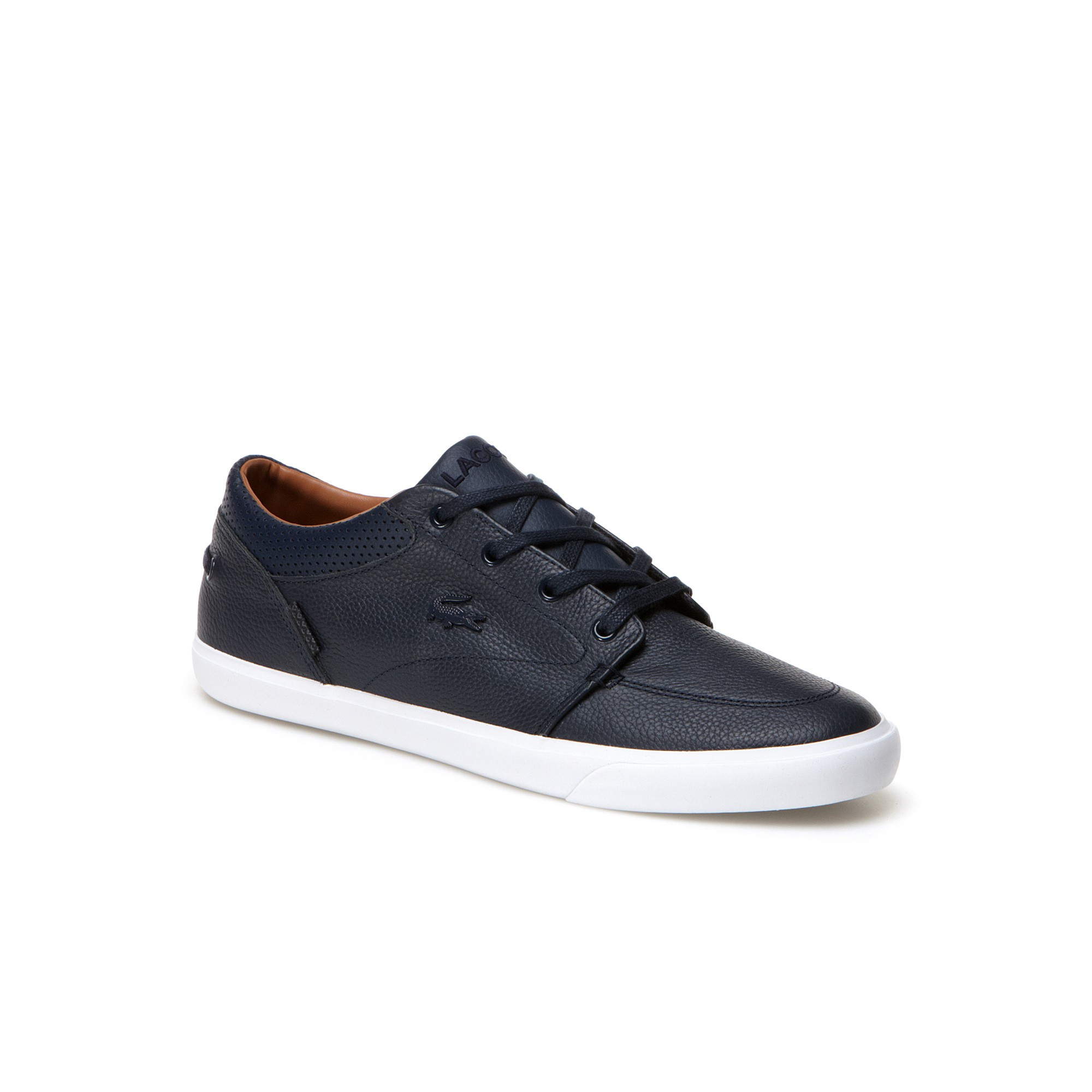 timeless design b5a6e 39f61 Discover ideas about Lacoste Shoes. Mens Leather Sneakers by Lacoste