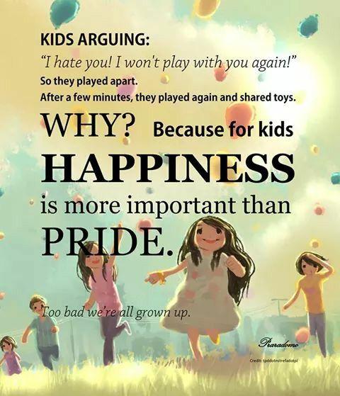 treasure the innocence be childlike be thankful smile