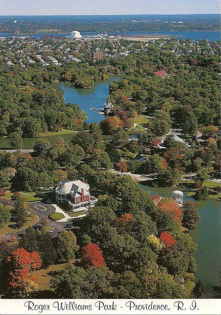 Roger Williams Park Providence Rhode Island Rhode
