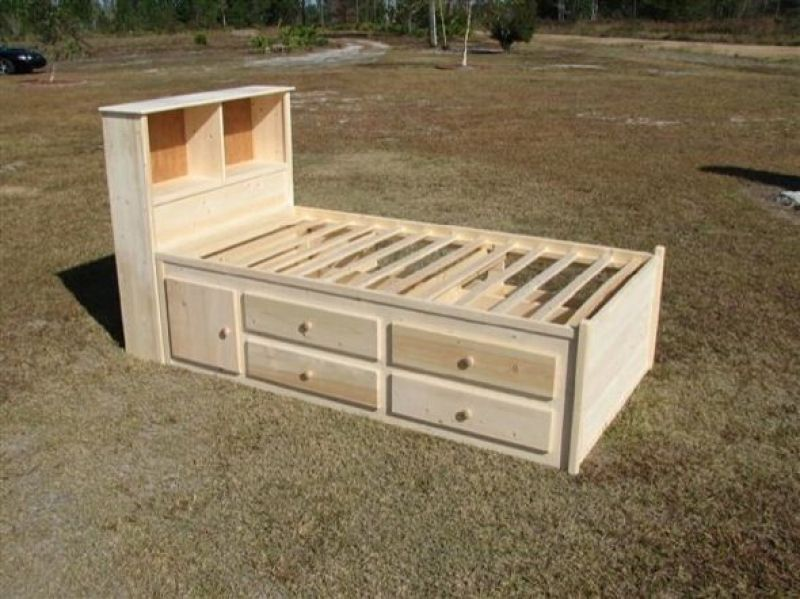 Captains Bed On Pinterest Beds Storage Beds And Beds With Storage Twin Captains Bed With Bookcase Headbo Twin Storage Bed Headboards For Beds Twin Captains Bed