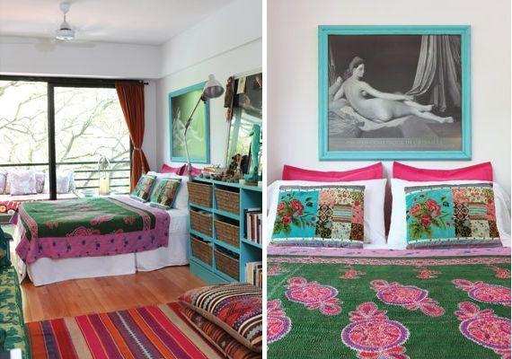 Decoraci n de un monoambiente colorido y con mucho espacio de guardadoDecoraci n de un monoambiente colorido y con mucho espacio de  . Revista Living Decoracion Monoambientes. Home Design Ideas