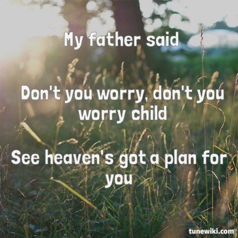 Lyricart For Don T You Worry Child Radio Edit Feat John Martin By Swedish House Mafia Frases De Canciones Canciones Frases