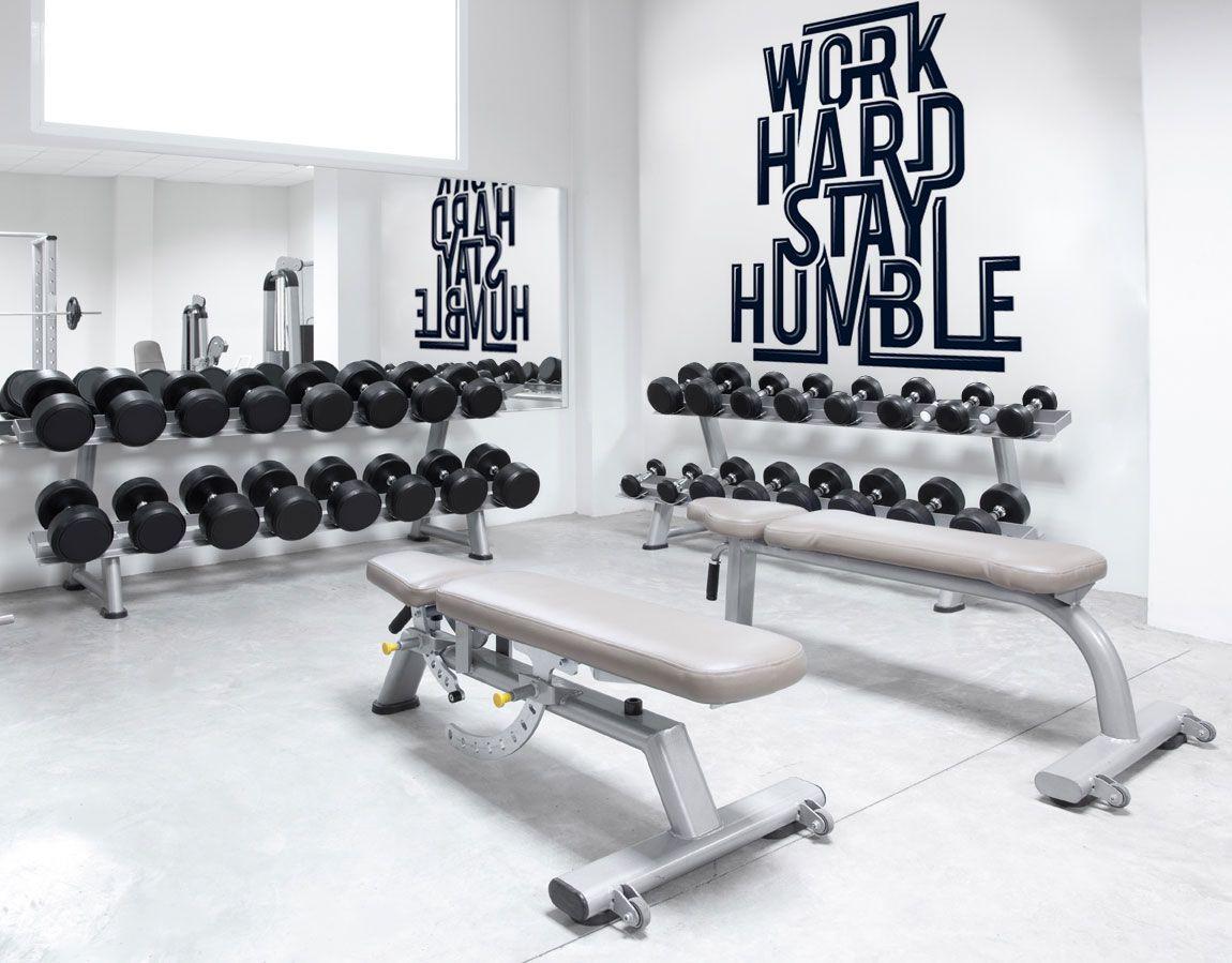 Motivational Wall Murals For Your Gym Or Wellness Center Gym Wall Decor Home Gym Design Home Gym Decor
