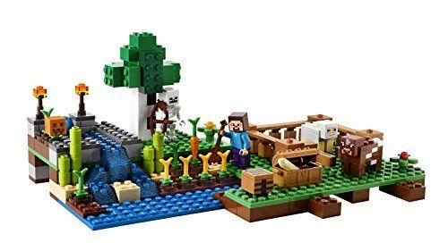 Amazon.com: LEGO Minecraft 21114 The Farm: Toys & Games   Lego ...