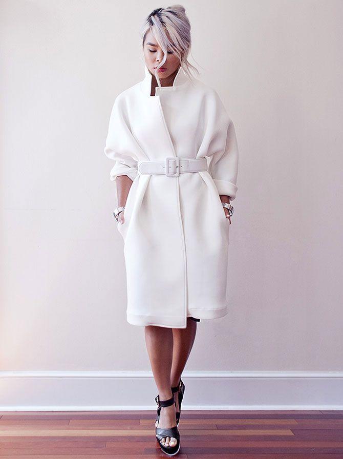 1740b848d64 Модные женские пальто из неопрена