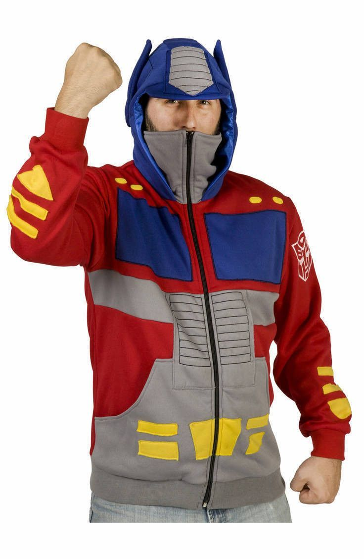 Optimus Prime Costume Hoodie | Optimus prime costume, Video games ...