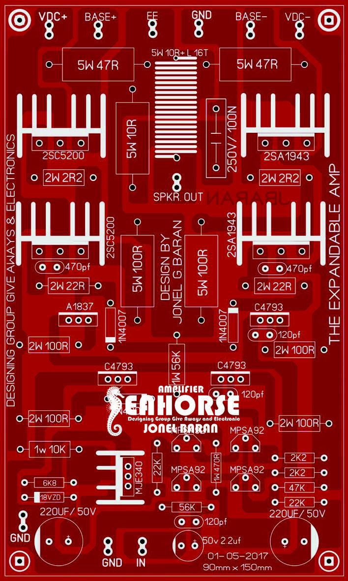 Marawi Amp Seahorse Diy Amplifier Pinterest Audio Fourchannelanalogmultiplexer Amplifiercircuit Circuit Diagram Board Electronics Projects Layout Design