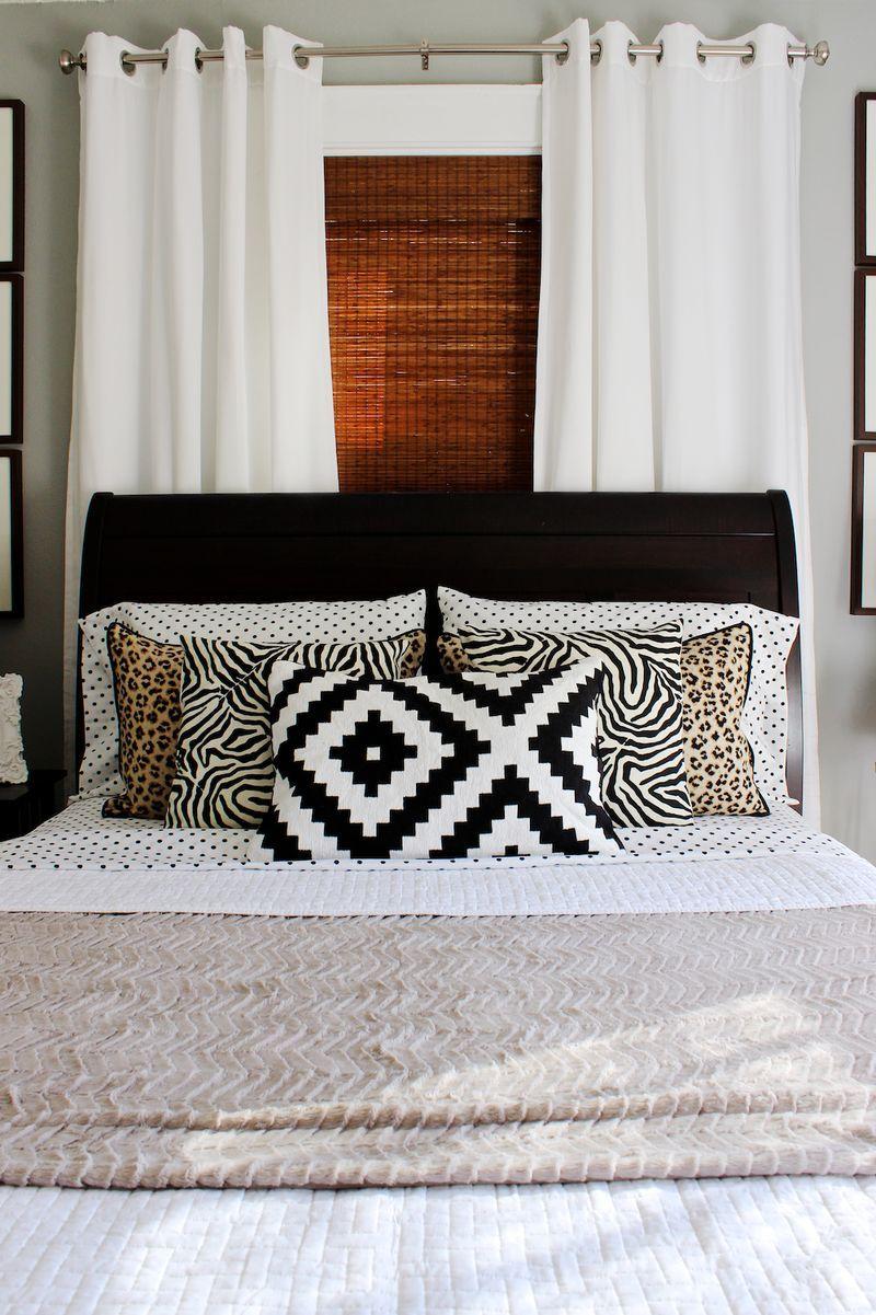 Bed against the window  at home with mandy pellegrin  slaapkamer stijlbord  pinterest