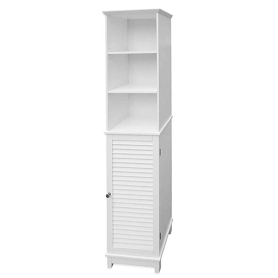 Summit Tall Cabinet Tower Bed Bath Beyond In 2021 Narrow Bathroom Storage Tall Cabinet Storage Tall Cabinet