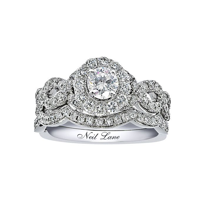 Wedding Rings Kay: Engagement Rings With Pavé Settings