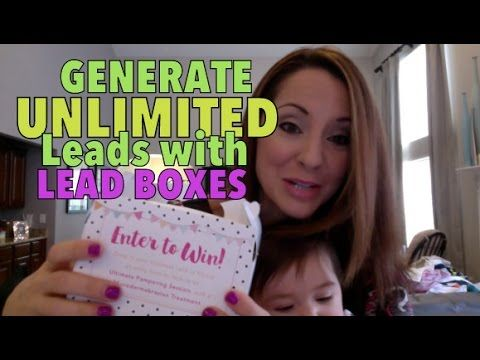 UNLIMITED Leads with LEAD BOXES!!   Mary kay facial, Mary ...