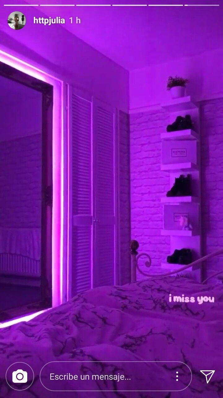 Aesthetic Neon Light Bedroom Ideas Homyracks