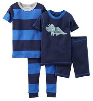 Pijama CARTERS 4 piezas - para combinarlas como quieras! Talles 2 años, 5 años