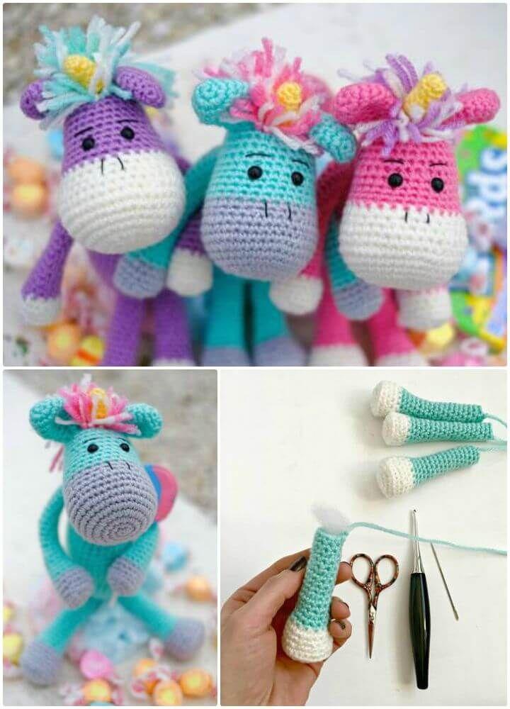 Crochet Unicorn Pattern- 32 Free Crochet Patterns | Amigurumi ...
