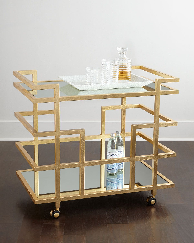 Azalea Bar Cart   Bar carts, Bar and Tea cart