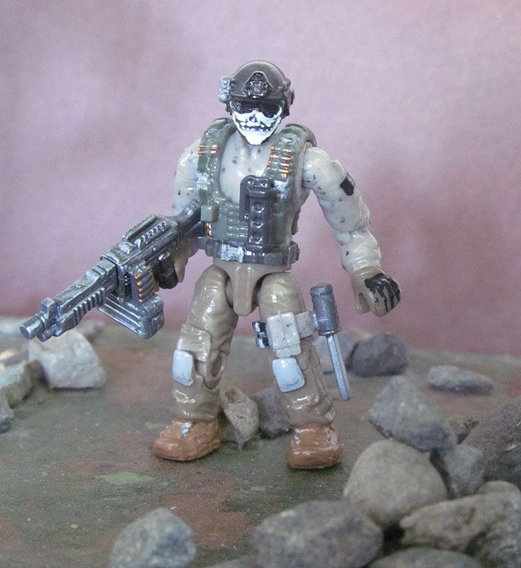 Photo Clips : Call Of Duty Mega Bloks Custom   jamal   Mega