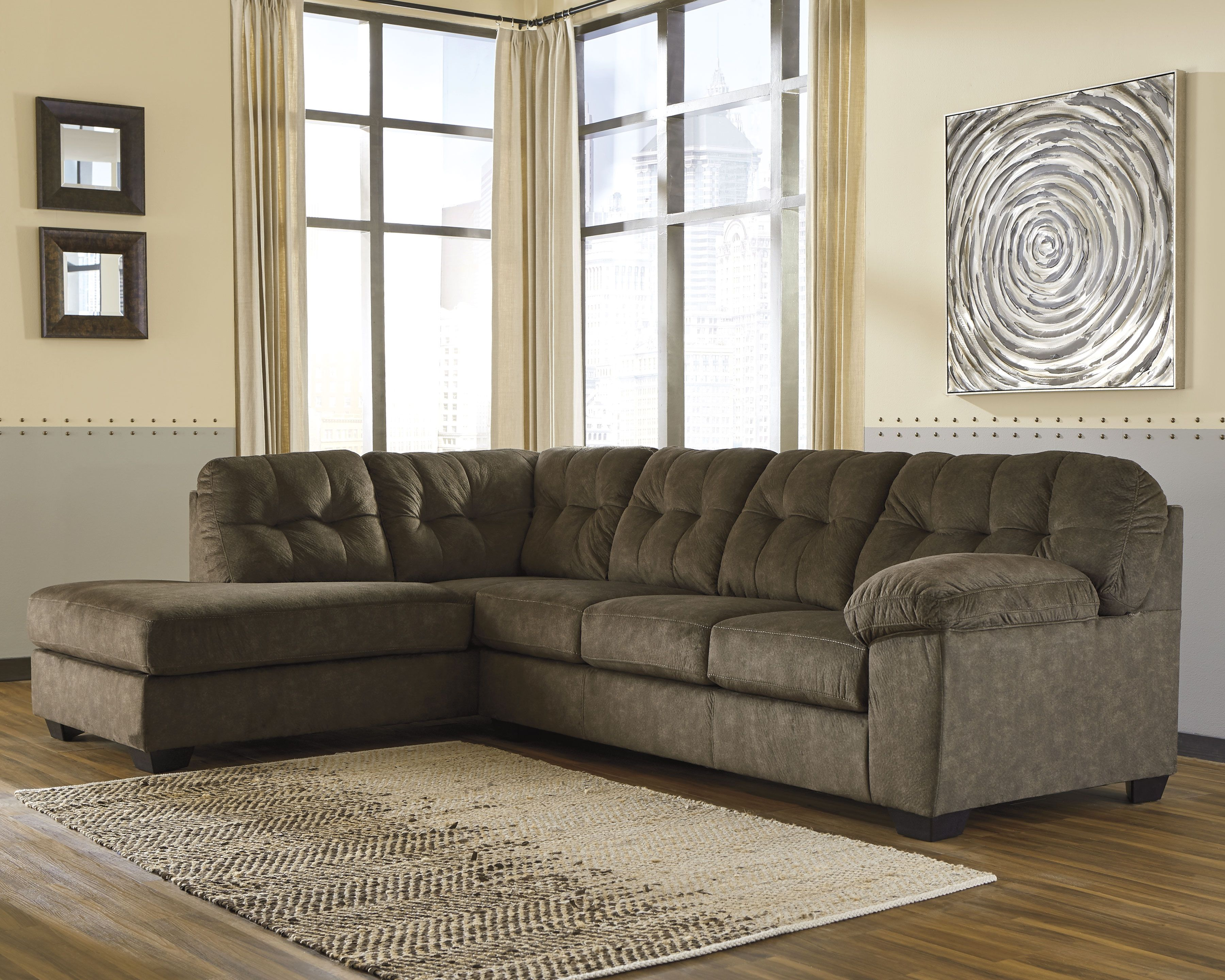Fabulous Accrington 2 Piece Sectional Earth Products Sectional Pdpeps Interior Chair Design Pdpepsorg