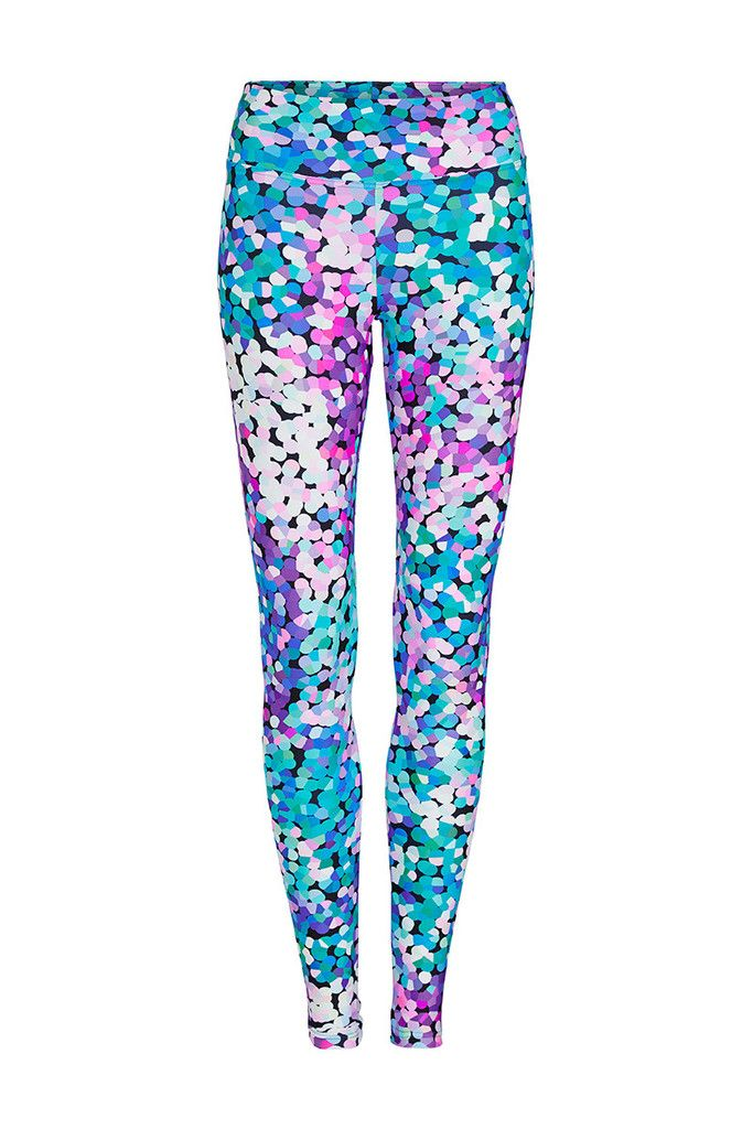 224095d917cd5 Disco glitter standard waist printed yoga legging full length dharma bums  yoga and activewear jpg 683x1024