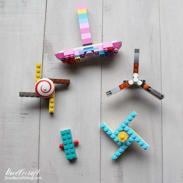 Easy LEGO Fid Spinner DIY Here s a fun summer kids craft