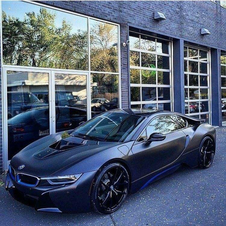 BMW i8 black | Bmw, Hot cars, Luxury cars