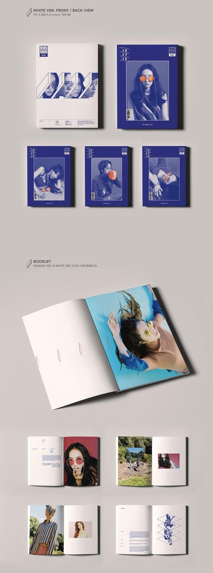 FX f(x) 4th Album Vol 4 - 4 Walls CD + Poster (Orange ...