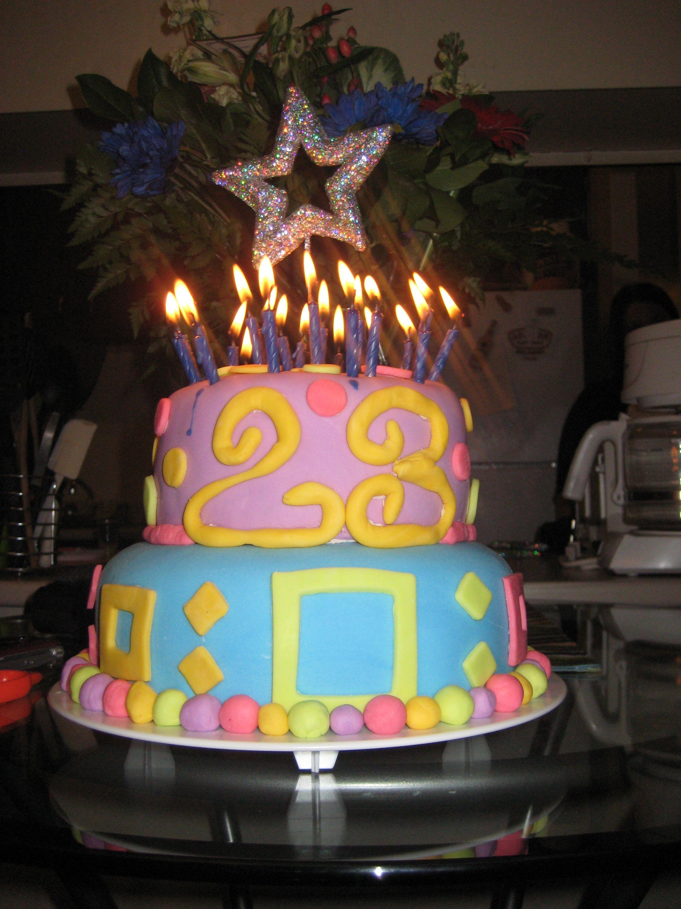 23rd birthday cake my cakes pinterest 23rd birthday cakes 23rd birthday cake thecheapjerseys Gallery