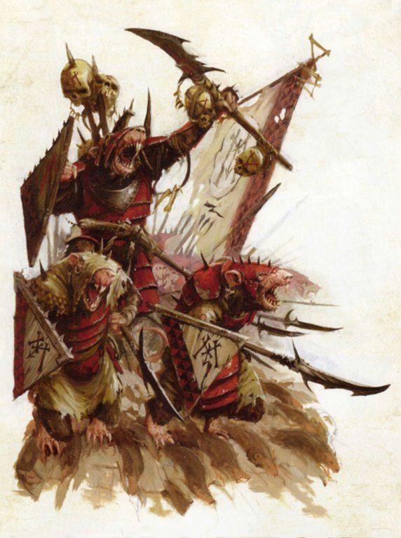 skavens, par (auteur inconnu), inWarhammer Battle, par Games Workshop