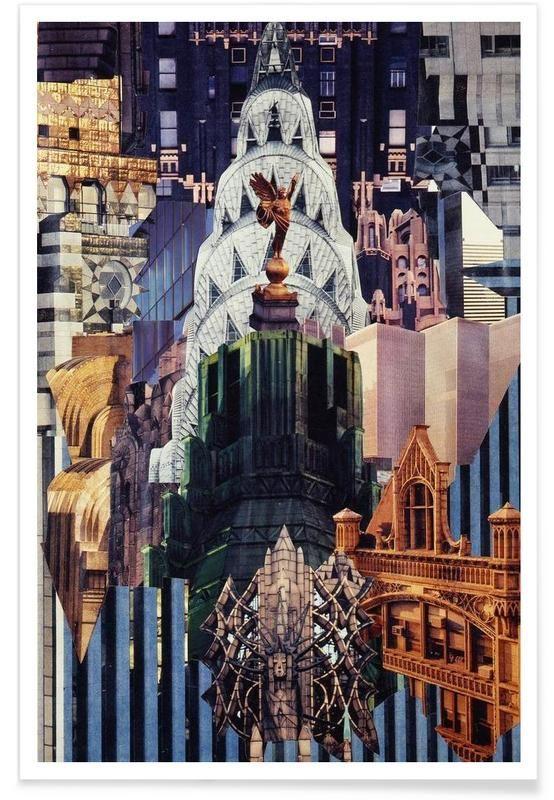 Upside Down, 1977 als Premium Poster