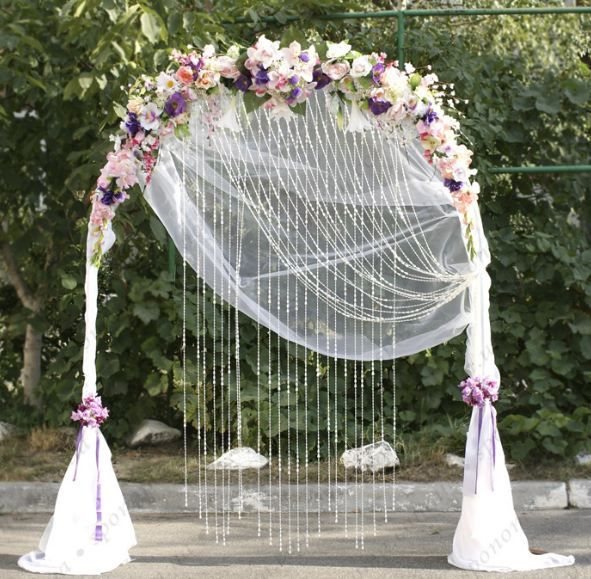 Свадебная арка своими руками фото фото 808