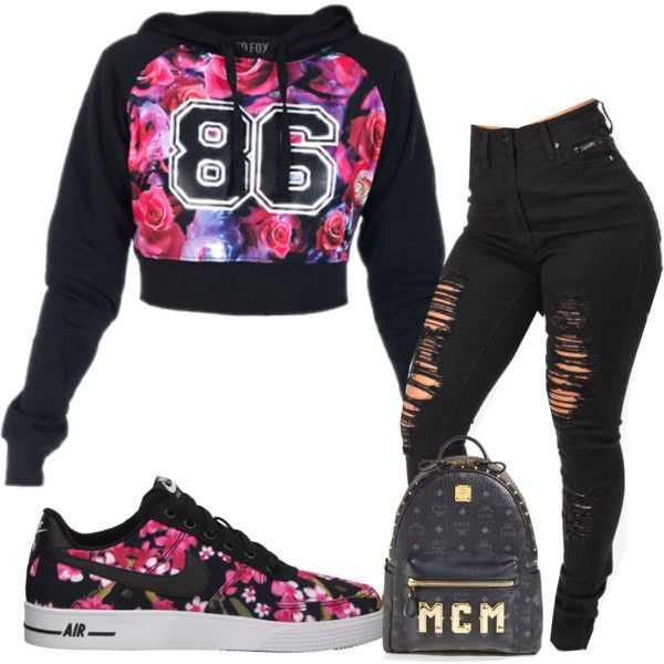 Created in the Polyvore iPhone app. http://www.polyvore.com. Jordan Outfits  ...