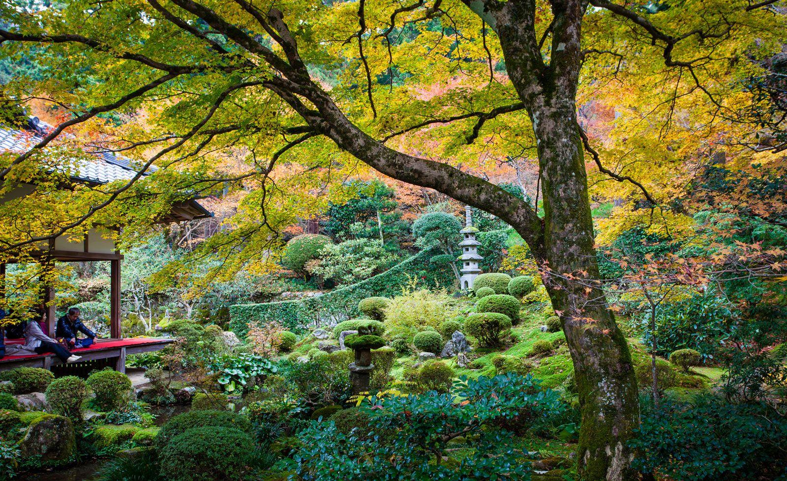 The Shuhekien Garden, Sanzenin Temple