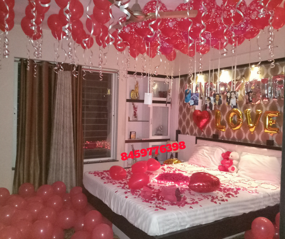Room Decoration Service For Anniversary Surprise Leadersrooms