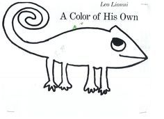 A Color Of His Own Chameleon Template Leo Lionni A Color Of His