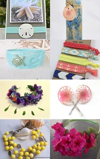 Summer time treasury for etsy.com