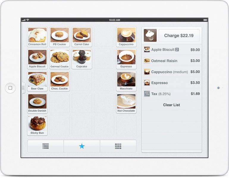 Square Register Replace your cash register with an iPad and an app