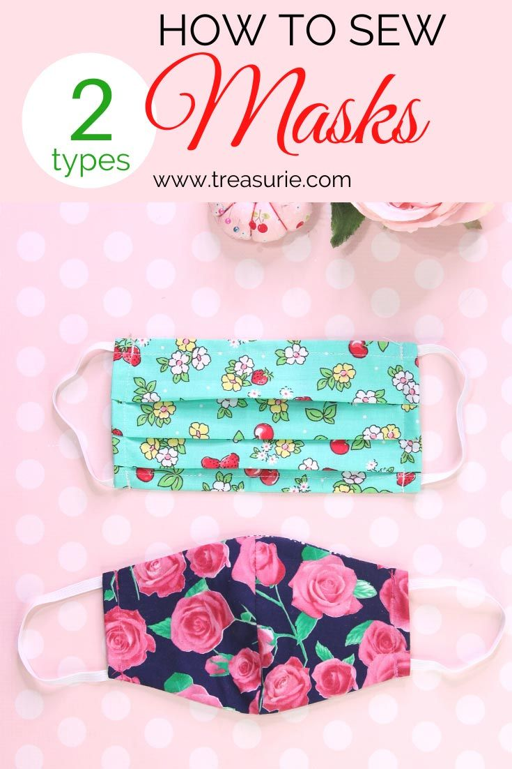 Photo of Face Mask Pattern – DIY Mask in 2 Styles (FREE) | TREASURIE