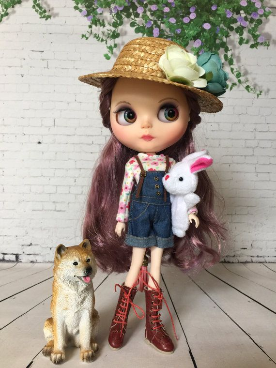 Mon Chéri OOAK Blythe Doll by DollyHandmadeCrafts on Etsy