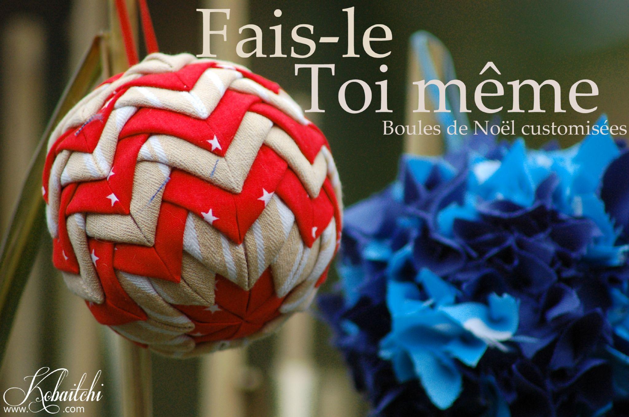 Épinglé par La Tricherie sur BOULE | Tuto decoration noel