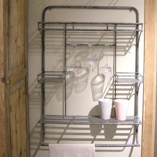 etag re murale pour cuisine en m tal cantina athezza id es cuisine composer pinterest. Black Bedroom Furniture Sets. Home Design Ideas