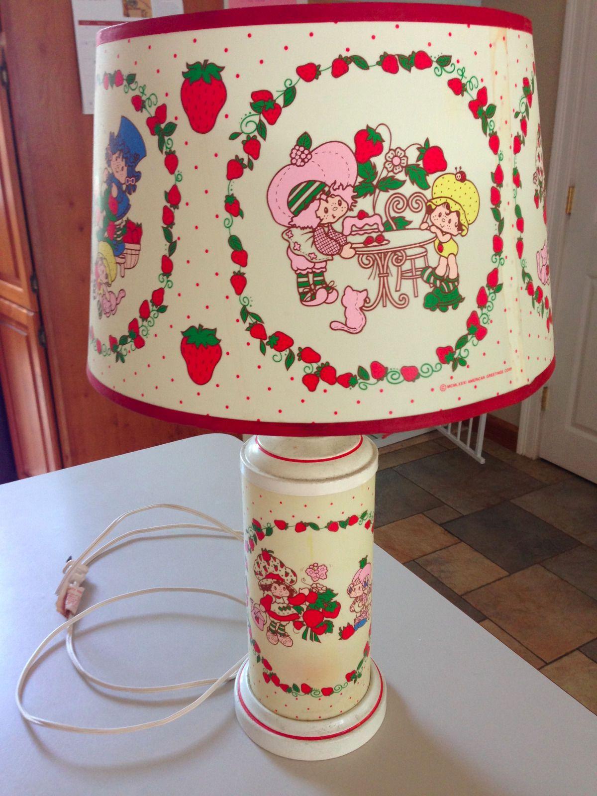 Http Www Ebay Com Itm Strawberry Shortcake Lamp Vintage 3215161614 Dolls Doll