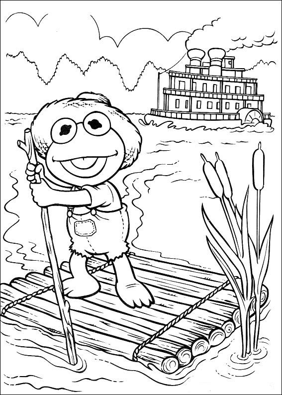Muppets Coloring Pages 34 Coloring Pages For All Baby Coloring