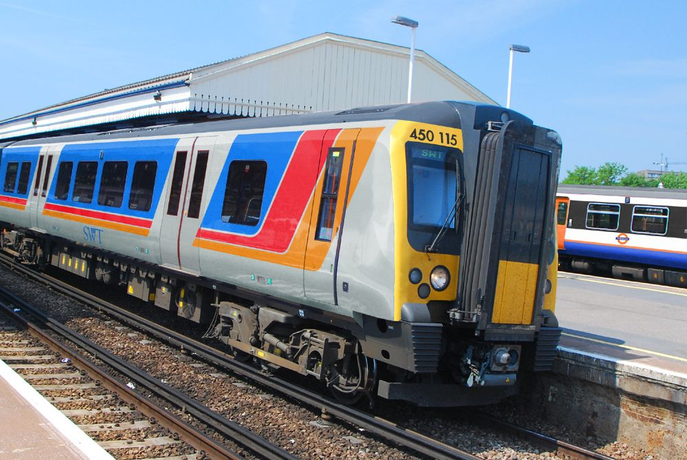 South West Trains Original Livery Class 450 In 2020 South West