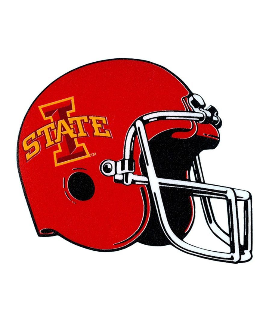 """Stockdale Iowa State Cyclones 4"""" x 4"""" Decal"""