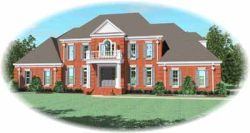 European House Plan 4 Bedrooms 3 Bath 4843 Sq Ft Plan 6 1285