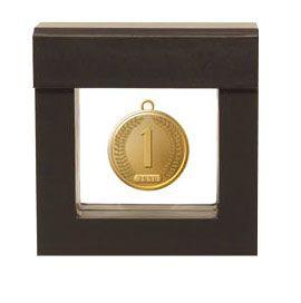 Münzen und Medaillen im Schweberahmen präsentieren