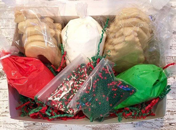 Christmas Cookie Decorating Kit.Sugar Cookie Kit Decorate Your Own Sugar Cookies Products