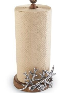 Coastal Paper Towel Holder Simple Coral Reef Seashells Paper Towel Holder  New Luxuries  Pinterest Inspiration